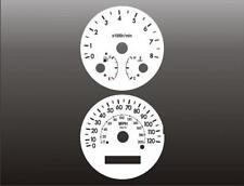 2004-2008 Chevrolet Aveo Dash Cluster White Face Gauges 04-08
