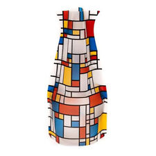 New Modgy Plastic Expandable Art Decor Flower Vase Piet Mondrian De Stijl Mona