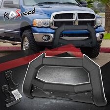 J2 Carbon Steel Bat Face Bull Bar Bumper Grille Guard For 02 09 Ram 1500 3500 Fits 2005 Dodge Ram 1500