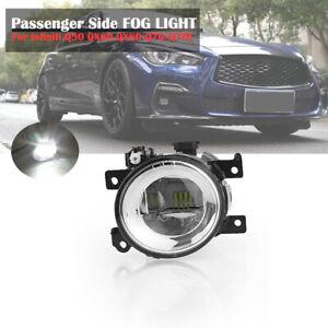 Right Front Fog Light For Infiniti 2014-2018 Q50 Q60 QX50 QX60 Passenger RH Side