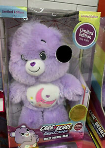 Care Bears - SWEET DREAMS BEAR Limited Edition 6000 DELUXE PLUSH TOY *NEW* RARE!