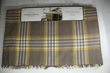 Threshold Extended Length & Width Table Runner 20 x 90 Harvest Plaid 100% Cotton