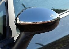 Chrome Wing Mirror Trim Set Covers To Fit Fiat Grande Punto (2006+)
