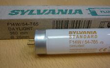 SYLVANIA F14W/54-765 DAYLIGHT Leuchtstofflampe 14W 765 T8 360 x 26mm Tageslicht