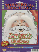 Santa White Eyebrows with Self-Adhesive