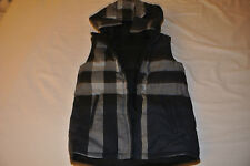 Burberry Reversible Boys Hooded Down Vest 10Y (for Kids) $325 New with Tags