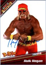 TNA Hulk Hogan H6 2010 Tristar New Era RED Authentic Autograph Card SN 3 of 9