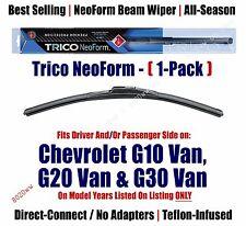 Super Premium NeoForm Wiper (Qty 1) fits 1970-74 Chevrolet G10/G20/G30 Van 16160
