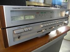 Toshiba solid state receiver SA-520 is in 100% work condition. Japan