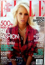 RARE Magazine ELLE September 2004 Jessica Simpson 538 Pages Fall Fashion