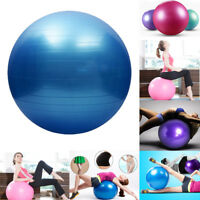 Gym Yoga Ball Smooth Exercise Pilates Fitness Workout 25/55/65/75cm Anti Burst