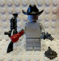 Custom COWBOY Outlaw BrickWarriors Brand WEAPON PACK for Lego Minifigures
