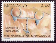 TIMBRE DE MONACO N° 1664 ** INSCRIPTION RUPESTRE / ATTELAGE