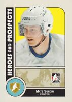 2008-09 ITG Heroes & Prospects Hockey Cards Pick From List