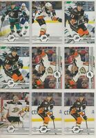 ANAHEIM DUCKS ~ 2019-20 Upper Deck Team Lot / Set ~ 16 Hockey Cards ~ GIBSON