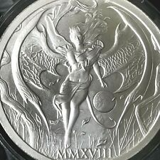 2018 Temptation of the Succubus 2oz .999 Fine Silver Hot Girl Skulls Beauty Lady
