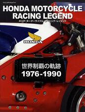 [BOOK] HONDA MOTORCYCLE RACING LEGEND 1 '76-'90 NR500 HRC NSR RCB CB750F VFR750