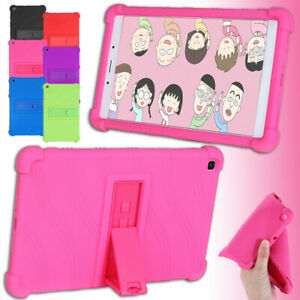 Stand Silicone Rubber Tablet Case for Samsung Galaxy Tab A 8.0'' SM-T290 SM-T295