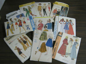 10 Vintage Ladies Clothes Patterns Tablecloths Motif Transfers Animals Holiday