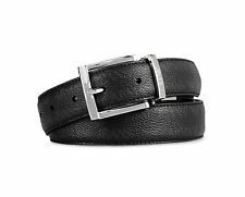 Armani Jeans RRP$149.95 Men's  Reversible Belt in Logo Patterned One size Black