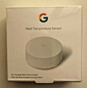 Google Nest Temperature Sensor White T5000SF.  Brand New. Sealed.
