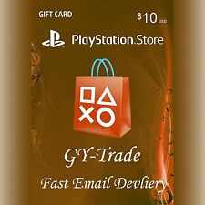 US $10 PSN Playstation Network Gift Card Prepaid Karte Key Code für PS3 PS4 PSP