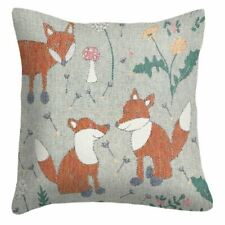 EKELUND WEAVERS organic brushed cotton cushion cover -
