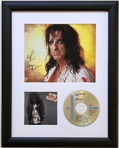 Alice Cooper / Signed Photo / Autograph / Framed / COA