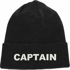 Fisherman Beanie, Captain Inspired Text hat, Embroidered Design