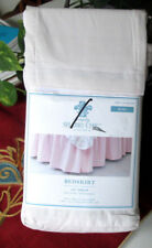 """SIMPLY SHABBY CHIC King Beskirt SOLID PINK ruffled 15"""""""