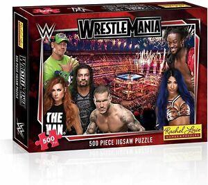 WWE Wrestlemania Jigsaw Puzzle - 500 Pieces - Gift Idea - Wrestling Fan Merch