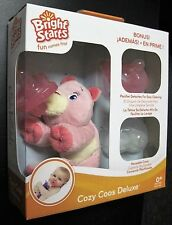 Bright Starts Cozy Coos Deluxe, Pink Cub