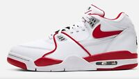 Brand New Men's Nike Air Flight '89 Athletic Basketball Sneakers | Red & White