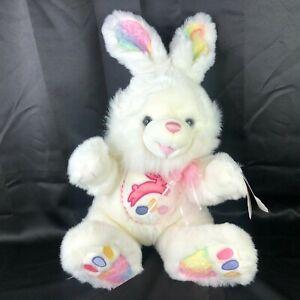 "Dan Dee Hoppy Hopster 24"" Plush Large Easter Bunny Rabbit White Pastel Toy NWT"