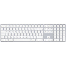 Apple Magic Keyboard mit Ziffernblock Silber