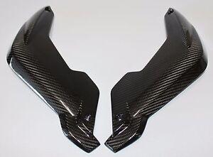 BMW K1300R 2009-2015 Fork Covers - Carbon Fiber