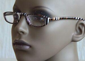 +1.00 Tiger Stripe Reading glasses with slip case