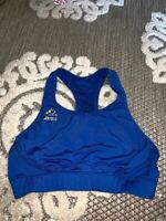 Adidas Tech Fit Hot Blue Medium Sports Bra