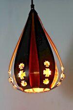 30cm Große 70er CORONELL PENDELLEUCHTE LAMPE DANISH 70s PENDANT LAMP