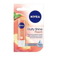 Nivea Fruity Shine Peach Lip Balm 4.8g 1 2 3 6 12 Packs