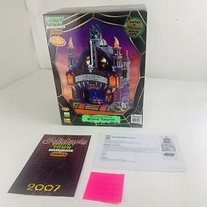 Lemax Spooky Town Collection Halloween Village Mortis Theater *Read*