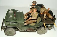 1:18 Ultimate Soldier WWII U.S Army Willys MB Jeep Vehicle w/ medical Stretcher