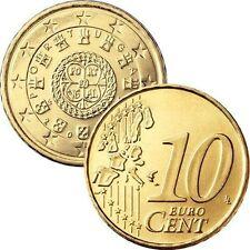 Pièces euros du Portugal 10 Cent