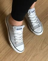 Converse All Star Chucks Hell Grau Low Damen GR. 39,5 39 Top Blogger Grey ❤️