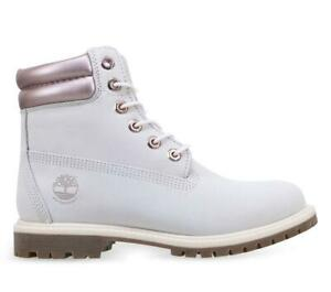 Timberland Women's Waterville 6 Inch Waterproof Boot Natural Nubuck A2AD4