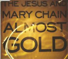 """The Jesus And Mary Chain - Almost Gold 1992 """"gold effect"""" CD single"""