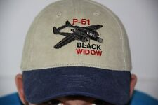 Northrop P-61 Black Widow Warbirds Airplane Embroidered Hat