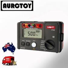 UT526 EARTH INSULATION RCD Resistance Electrical TESTER METER AU seller