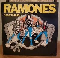 Ramones Road To Ruin Original 1978 UK Press Yellow Vinyl LP Sire SRK 6063