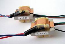 Shinhom T25 Ribbon mic microphone output Transformer - Pairs